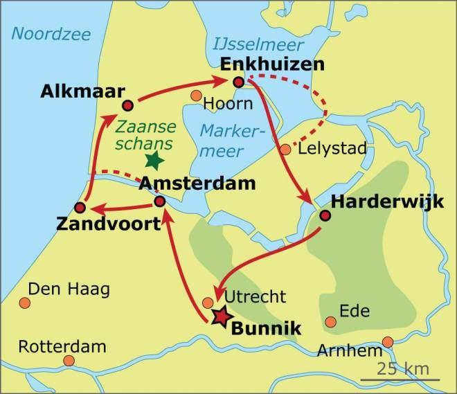 Dutch Canals Dunes Bike Tour hollandcycletourscom