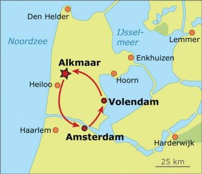 north-holland-map