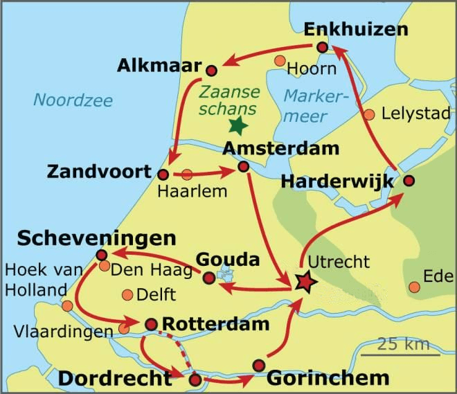 Dutch Cities Bike Tour | hollandcycletours.com